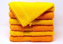 El color de la toalla